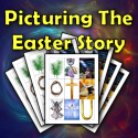 Picturing the Easter Story - Gospel Magic Lesson