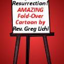 The Power of the Resurrection - Fold-Over Trick Cartoon Lesson